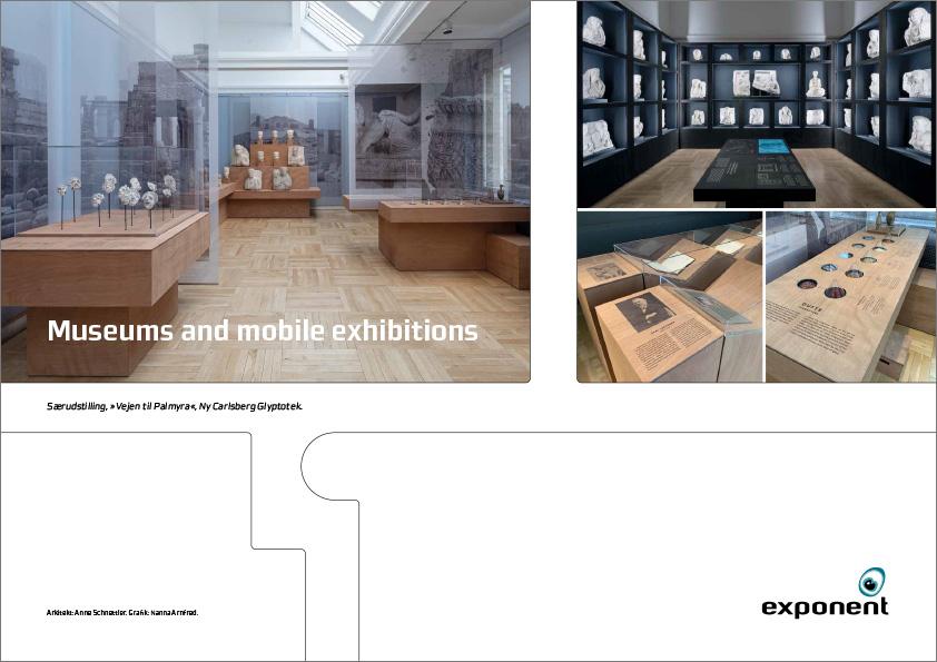 Museum, udstilling, Messestand